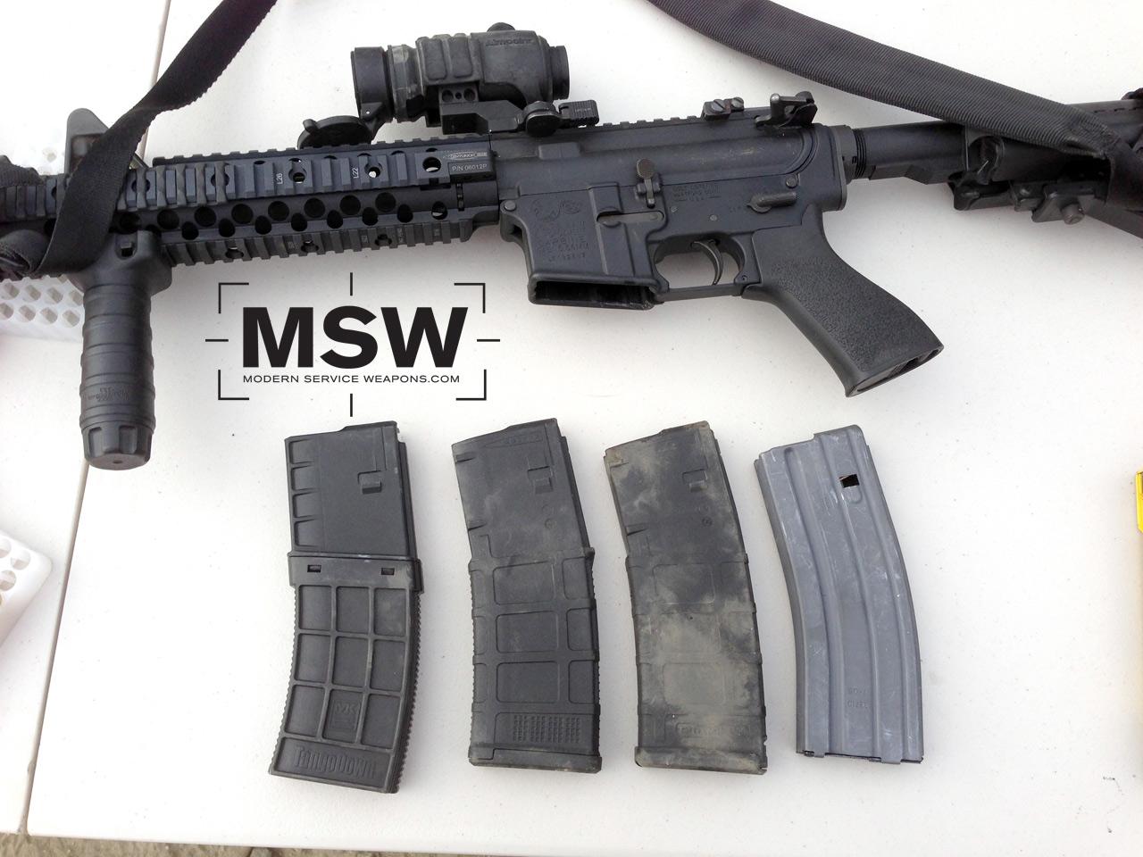 Ar15 M16 Magazine Drop Test Plastic Vs Aluminum Modern