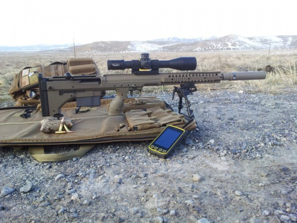 Desert Tactical Arms Stealth Recon Scout Srs Modern Service Weapons