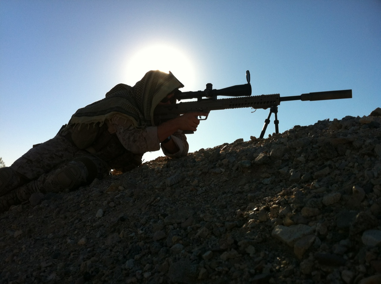 Gun review desert tactical arms stealth recon scout dta srs rifle - Desert Tactical Arms Stealth Recon Scout Srs Modern Service Weapons
