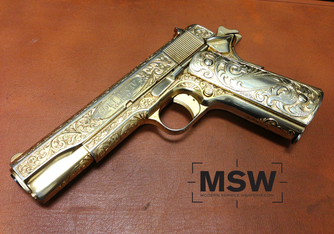 Photo Of The Day Goldmembers 1911 Modern Service Weapons