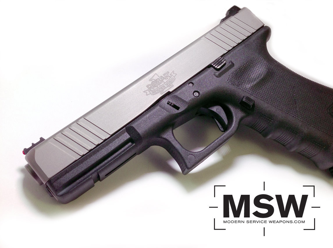 Photo of the Day: Robar Guns Glock Slide | Modern Service Weapons