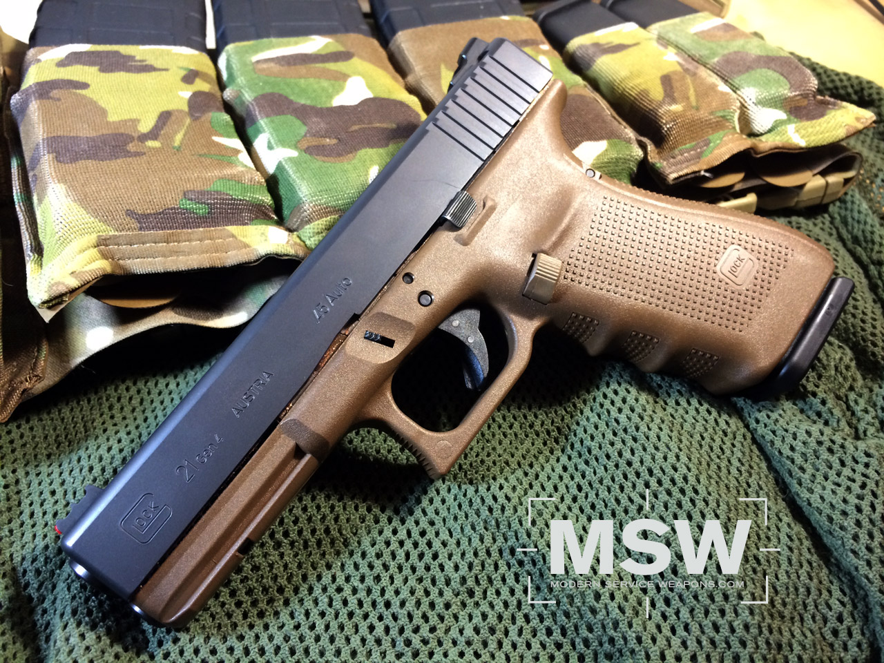 My Thoughts on the Glock 21 | Modern Service Weapons