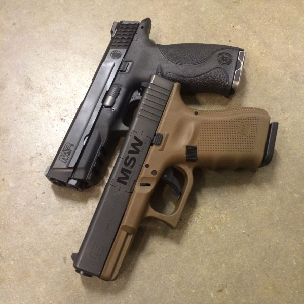 M And P Shield Vs Glock 26 M ampP or Why I Shoot An M ampP
