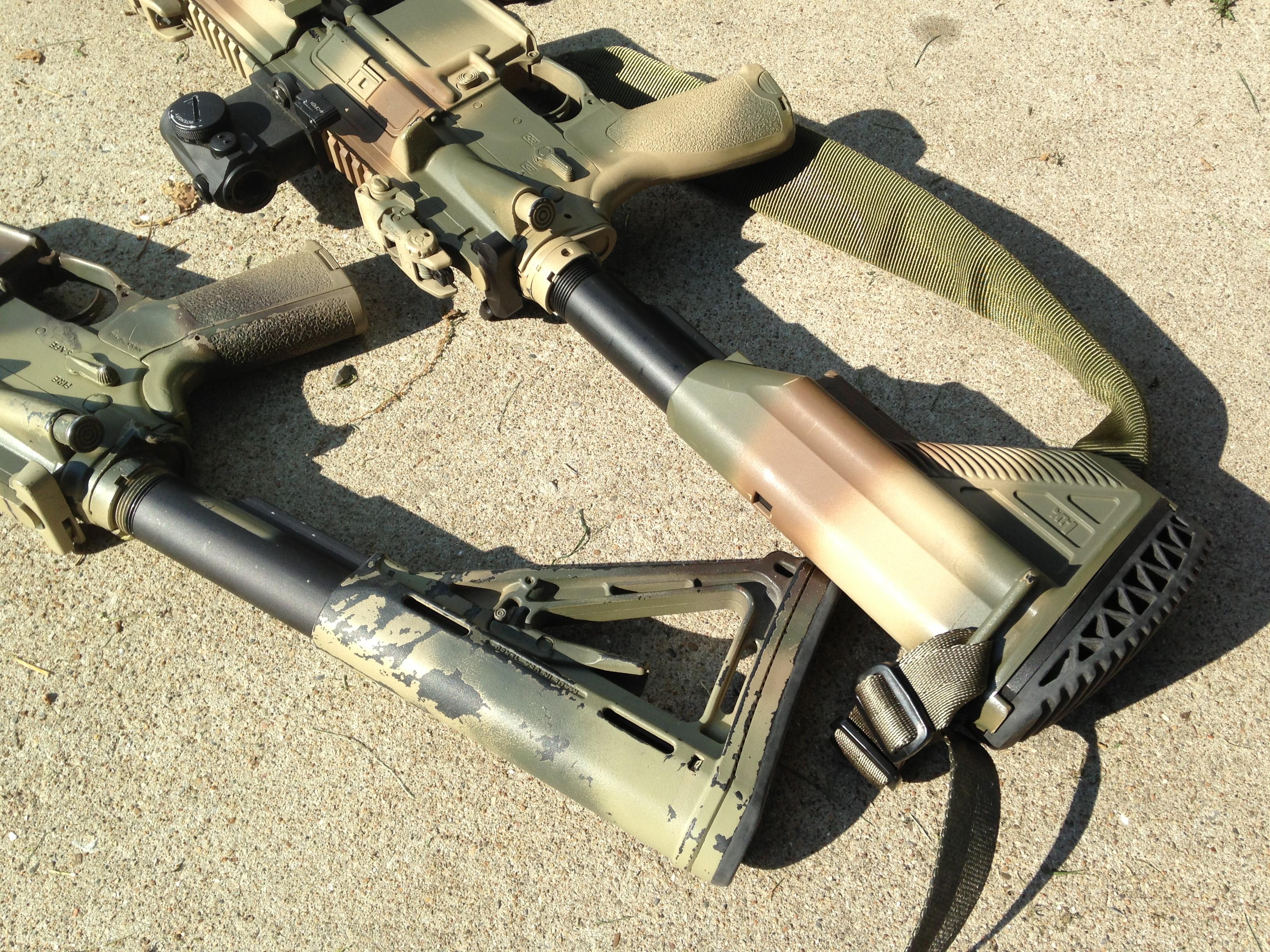 like painted guns i like to use my guns a good combination. Black Bedroom Furniture Sets. Home Design Ideas