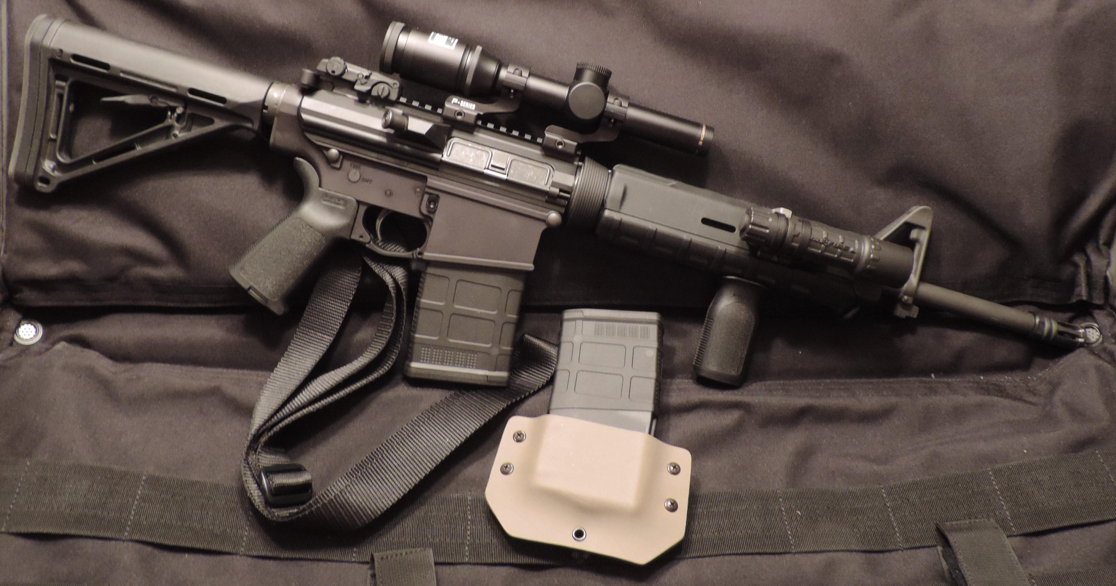 Bushmaster 308 Orc Moe Carbine Review Modern Service