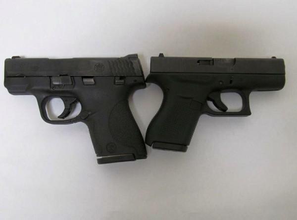Glock 26 vs 43 glock 43 single stack 9mm amp hk p30sk kompact