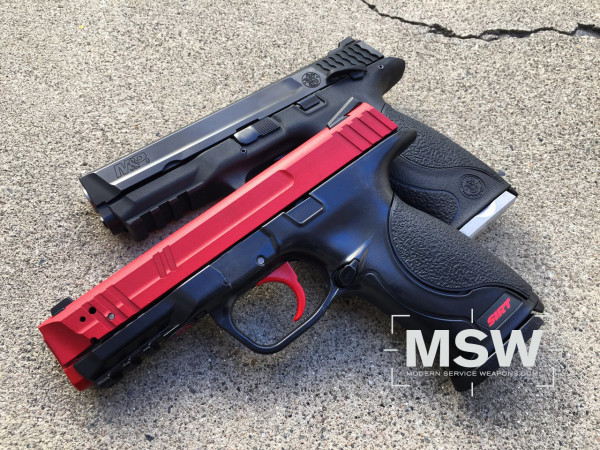The long awaited M&P model SIRT, dubbed the 107, has finally arrived and brings along with it a host of design upgrades.