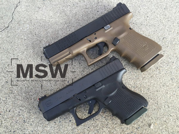 The Glock 19 is a do everything pistol, while the Glock 26 is easier to carry.