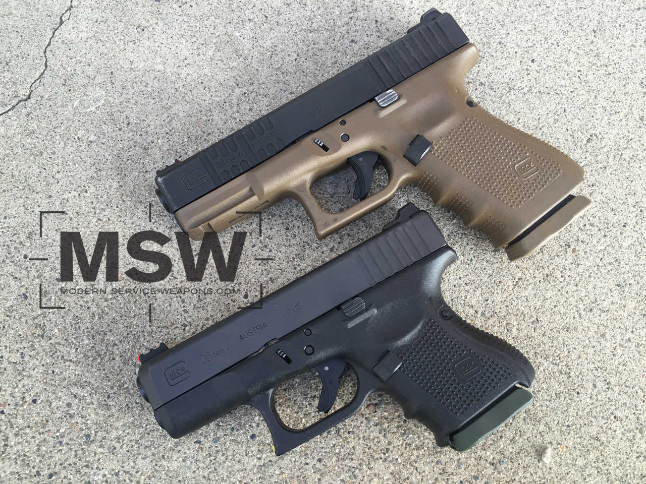 Concealed Carry Glock 19 Vs Glock 26 Modern Service Weapons
